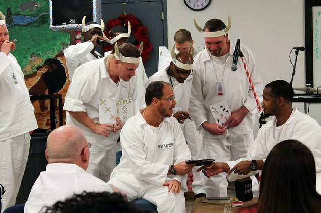 pathway-to-freedom-program-members-put-on-a-morality-play-for-other-inmates-and-their-families-at-the-arkansas-department-of-corrections-hawkins-unit-in-wrightsville-on-dec-8