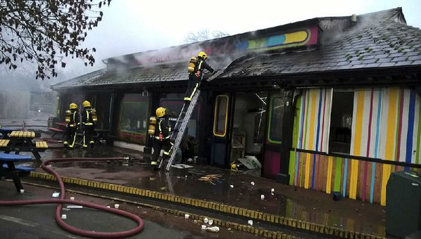 Animal Missing After Fire Breaks Out At London's World-Famous Zoo