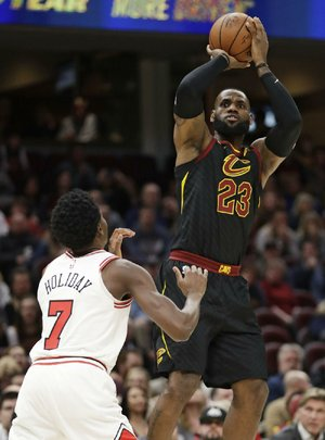 Former Chicago Bulls great Scottie Pippen said LeBron James can't be better than him until James can match his six NBA championships. James has won three titles.