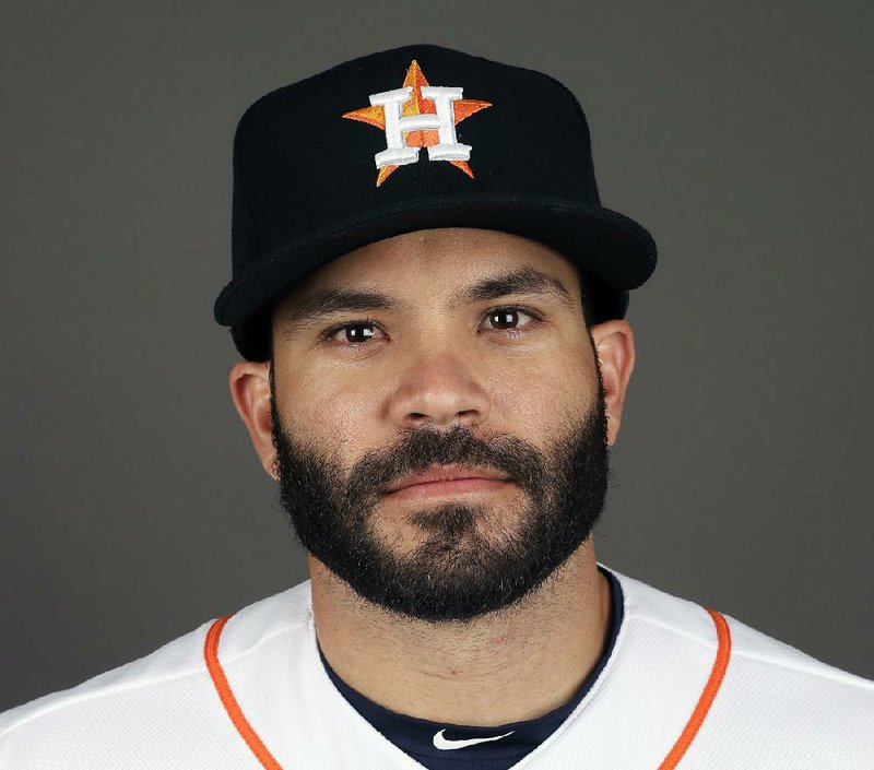 half off 12bb9 55c21 This 2017 file photo shows Jose Altuve of the Houston Astros baseball team.  Altuve was named The Associated Press Male Athlete of the Year on  Wednesday, ...