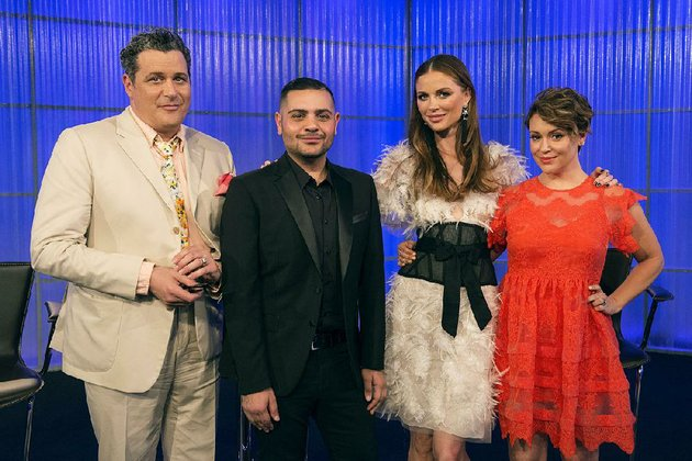 project-runway-all-stars-returns-to-lifetime-today-with-from-left-judge-isaac-mizrahi-guest-judge-michael-costello-judge-georgina-chapman-and-host-alyssa-milano-curtain-rises-at-8-pm