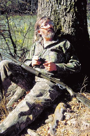 Hunters like Jim Spencer of Calico Rock often sell squirrel tails to Mepps or trade tails for lures, in order to make something useful out of a byproduct of the hunt that's usually thrown away.