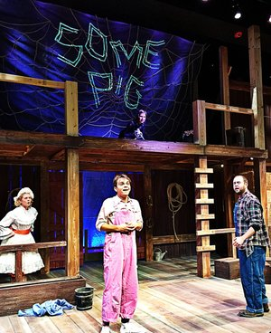 """Trike Theatre's production of """"Charlotte's Web"""" sold out at the Walton Arts Center this winter. Now the company is looking for another success with the spring production of """"Lilly's Purple Plastic Purse."""""""