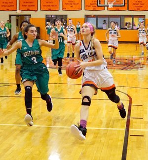 Basketball Gravette S Bookout Continues Working For Her Shot