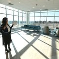 Hilary Demillo, spokeswoman for Arkansas Children's Hospital Northwest, shows off the hospital's nat...