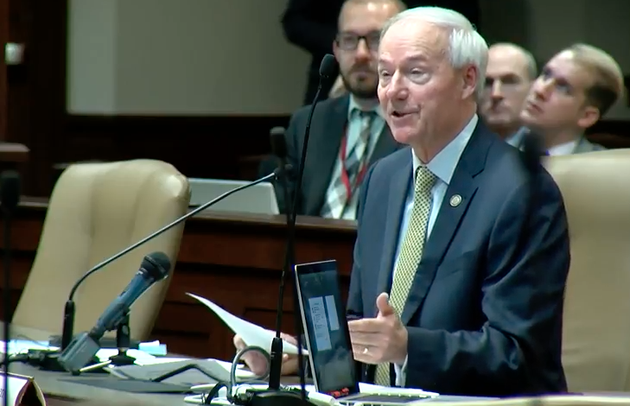 gov-asa-hutchinson-on-tuesday-presents-his-proposed-fiscal-2019-budget-in-this-screenshot-from-a-live-stream-of-the-hearing