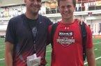 Tanner Burns and Reid Bauer.