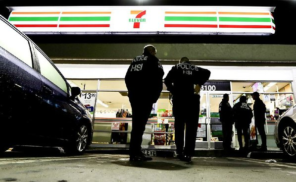 United States immigration agents target 7-Eleven stores nationwide