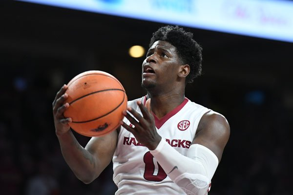arkansas-guard-jaylen-barford-goes-up-for-a-shot-during-a-game-against-lsu-on-wednesday-jan-10-2018-in-fayetteville