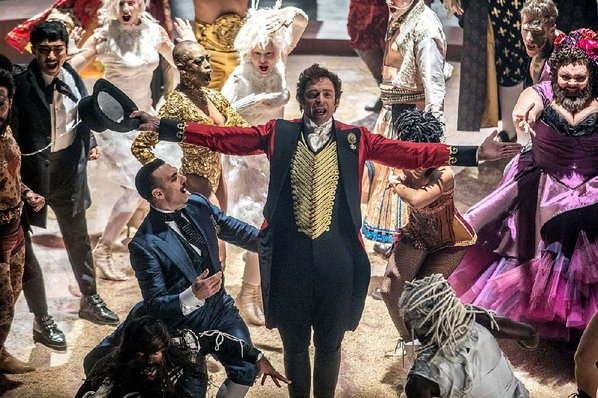 'The Greatest Showman' swings to top of Billboard 200 chart