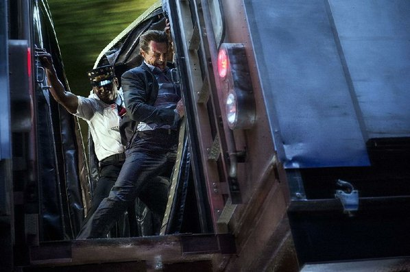 Liam Neeson gets taken for a ride in 'The Commuter'