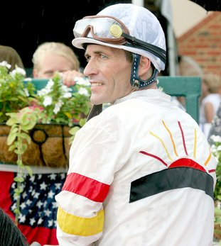 Submitted photo FIRST TIME FOR EVERYTHING: Hall of Fame jockey Gary Stevens will begin his first full-time season at Oaklawn Park with five mounts on opening day and 15 in the first three days.
