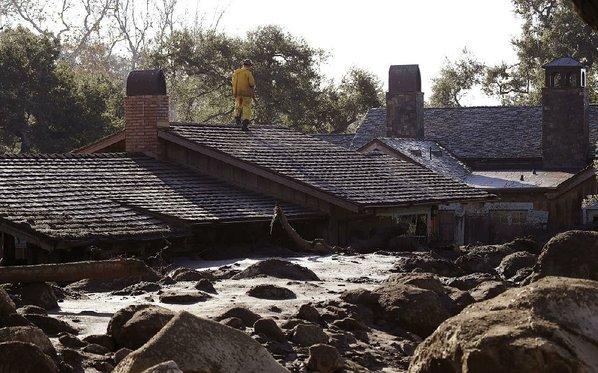 California mudslide casualties increase to 18
