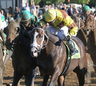 Submitted photo SOUTHWEST SEASON: High North broke his maiden in his third start Oct. 26 at Keeneland. Trainer Brad Cox said he is aiming for High North to make his seasonal debut in the Grade 3 $500,000 Southwest Stakes at Oaklawn Park on Feb. 19.