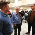 J.J. Picollo (right), Kansas City Royals vice president and assistant general manager for player per...