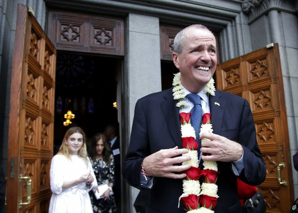 Democrat Phil Murphy prepares to change into New Jersey governor