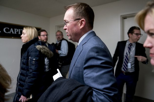budget-director-mick-mulvaney-arrives-on-capitol-hill-in-washington-thursday-jan-18-2018-ap-photoandrew-harnik