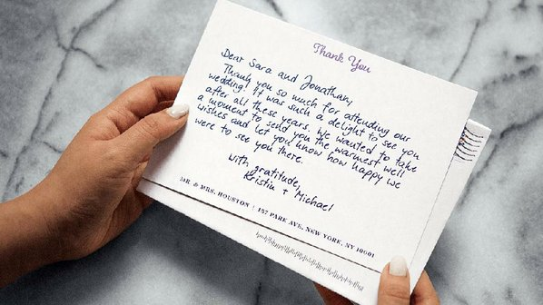 wedding thank you notes made easy nwadg