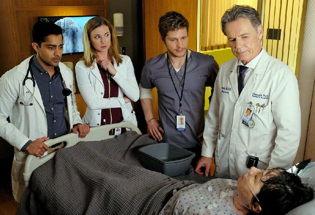 foxs-new-medical-drama-the-resident-stars-from-left-manish-dayal-emily-vancamp-matt-czuchry-and-bruce-greenwood-the-series-debuts-at-9-pm-today-following-the-nfc-championship-game