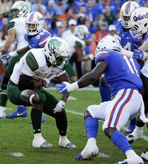 Alabama-Birmingham reinstated football for the 2017 season and fi nished 8-5 with a loss to Ohio in the Bahamas Bowl. UAB had disbanded its football, rifle and bowling programs in December 2014, after the university found the athletic budget had been $1 million over in each of the previous 10 years.