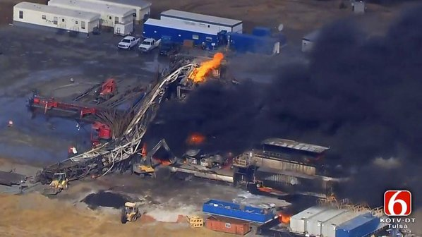Bodies recovered from Oklahoma gas rig explosion