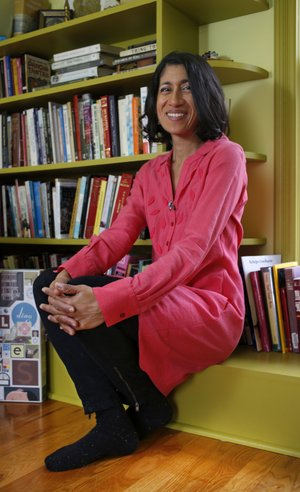 """""""Her honesty and generosity are so natural and unwavering that she can make people feel great just by being in the room,"""" Lisa Margulis says of friend Padma Viswanathan."""
