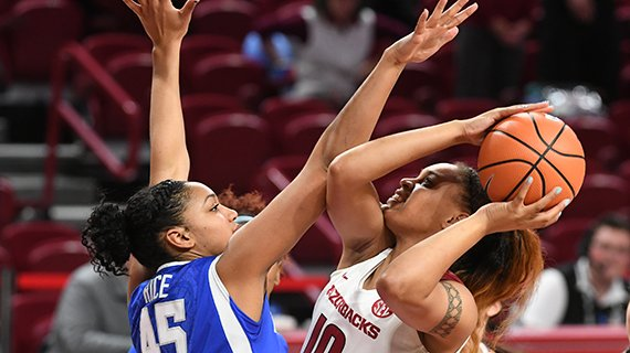 Arkansas lost 76-65 to Kentucky on Monday, Jan. 29, 2018 at Bud Walton Arena in Fayetteville.