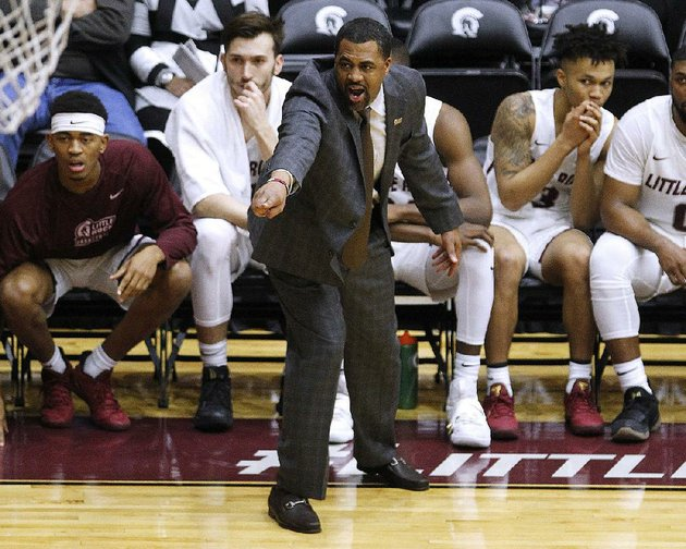 coach-wes-flanigan-and-the-ualr-trojans-will-host-georgia-southern-today-at-the-jack-stephens-center-in-little-rock-the-trojans-are-looking-to-snap-a-four-game-losing-streak