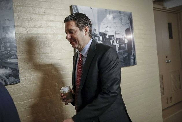 house-intelligence-committee-chairman-devin-nunes-heads-to-a-gop-conference-tuesday-at-the-capitol