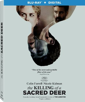 Blu-ray case for The Killing of a Sacred Deer
