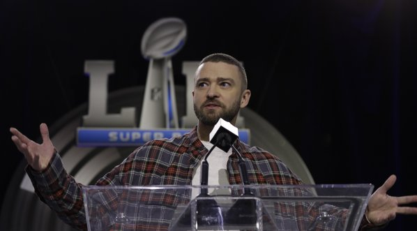 Justin Timberlake says Janet Jackson won't be joining him at Super Bowl