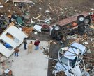 10 YEARS AGO: Tornadoes, including one that was on the ground for 122 miles, killed more than a dozen people in Arkansas