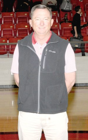 MARK HUMPHREY ENTERPRISE-LEADER Former Farmington girls basketball coach and current athletic director Brad Blew will be inducted into the Arkansas High School Coaches Association Hall of Fame on July 13 at Hot Springs. Blew transformed the program into a perennial power, advancing to the state semifinals 8 times, finishing as State Runner-up three times, and winning the 2004 Class 3A State championship.