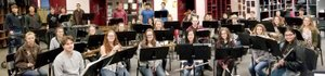 SUBMITTED The Gentry Wind Ensemble will perform at the Arkansas All-State Convention Arena on Feb. 15. Essemble members include Maximus Eckart (front, left), Autumn Veile, Bailey Harrington, Cha Chi Vang, Madison Ruth, Katelyn Brinkley, Edlin Reyez, Madison Whitehead (row two, left), Falyn Cordeiro, Kamrey Swinney, Natalee Easley, Megan McCollum, Tim Swearingen, Jacob Long, Jacob Skaggs, Courtney McCollum, Iuaiyou Vang (row three, left), Erin Her, Amanda Smith, Jaden Lothes, Vince Rajsombath, Brian Davis, Parker McCollum, Holden Wills, Joshua Harris, Dylan Cedotal (row four, left), Christian Davis, Richard Calico, Adam Lee, Andrew Reynos, Garrett Brown, Nicholas Vang, Christian Reynoso, and (not pictured) Autumn Broglen, Katlyn Adams and Paige Wood.