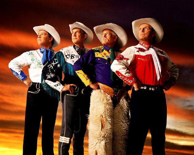 riders-in-the-sky-joey-the-cowpolka-king-from-left-woody-paul-too-slim-and-ranger-doug-bring-their-comedy-and-western-show-tonight-to-fowler-arena-in-jonesboro
