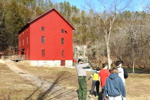 PHOTO SUBMITTED Built in 1893, Alley Spring Mill began operating 124 years ago with a steel turbine from power of the daily flow of 81 million gallons of water (Missouri's seventh largest spring). By 1903, the mill was the center of a small village with a blacksmith, store and school with an enrollment of 42 students.