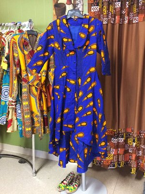 At Little Rock boutique Desirene Afrik, ankara dresses await those who seek sartorial expression during Black History Month. Although the fabric is not new, ankara has exploded in recent years in the form of maxi skirts and dresses.