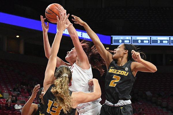 Arkansas lost 84-58 to Missouri Monday Feb. 12, 2018 at Bud Walton Arena in Fayetteville.