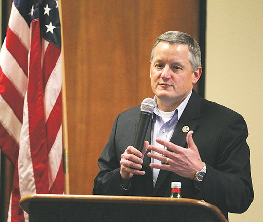 the-sentinel-recordrichard-rasmussen-coffee-talk-us-rep-bruce-westerman-r-district-4-of-hot-springs-speaks-at-a-coffee-with-your-congressman-event-monday-at-the-greater-hot-springs-chamber-of-commerce