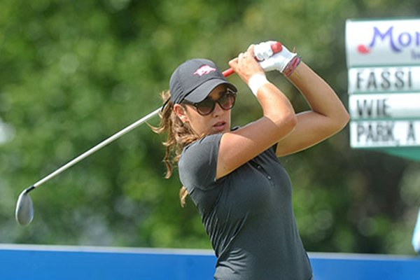 Arkansas' Maria Fassi became the third Razorback to win three events in a single season on Tuesday, joining Stacy Lewis and Emily Tubert.