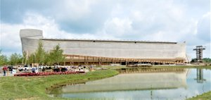 Gene Linzey/Reflections on Life Pictured is the Ark Encounter, featuring a full-size construction of Noah's Ark from the book of Genesis, located in Williamstown, Ky.