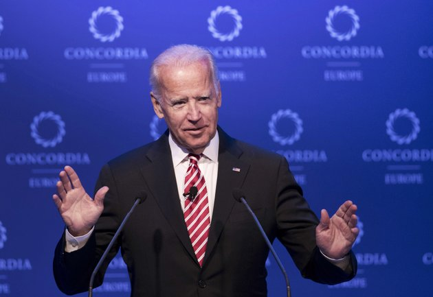 file-in-this-june-7-2017-file-photo-former-us-vice-president-joe-biden-speaks-during-a-conference-in-athens-biden-is-tiptoeing-toward-a-potential-run-in-2020-even-broaching-the-possibility-during-a-recent-gathering-of-longtime-foreign-policy-aides-huddled-his-newly-opened-office-steps-from-the-us-capitol-biden-opened-a-planning-meeting-for-his-new-diplomacy-center-by-addressing-the-elephant-in-the-room-he-said-he-was-keeping-his-2020-options-open-considering-it-a-real-possibility-ap-photopetros-giannakouris-file