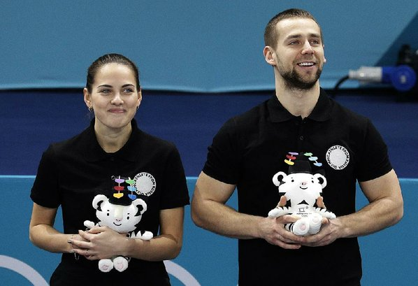 Viral Russian Curling Couple in Hot Water Over Doping Allegations