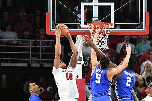 Kentucky beats Arkansas, Kevin Knox puts up 23 - Recap, Box score