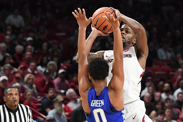 Arkansas lost 87-72 to Kentucky Tuesday Feb. 20, 2018 at Bud Walton Arena in Fayetteville.