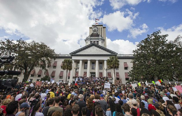 young-protesters-rally-wednesday-outside-the-florida-capitol-in-tallahassee-to-call-for-tougher-laws-on-assault-rifles-lawmakers-said-they-would-reconsider-allowing-18-year-olds-to-buy-such-weapons