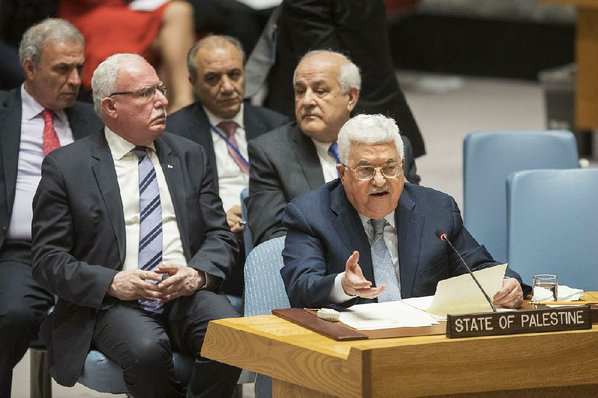 Palestinian Authority's Abbas Prepares for Speech at UN Security Council