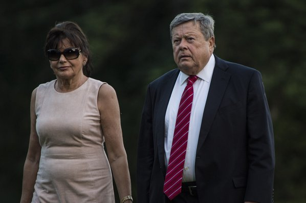 Melania Trump's parents become USA residents