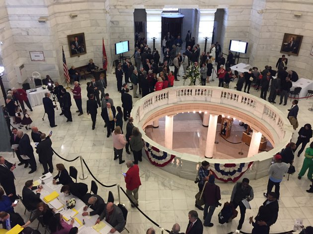 candidates-and-supporters-gather-in-the-arkansas-capitol-to-file-for-election