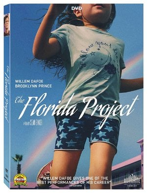 DVD case for The Florida Project